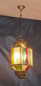Copper Pendant Lamp with Glass Decorative 18994 Pendant Lighting pictures & photos