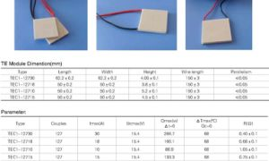 Thermoelectric Peltier Module Cooling Peltier pictures & photos