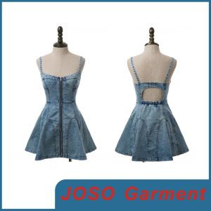 Fashion Lady Sexy Denim Dress (JC2029) pictures & photos
