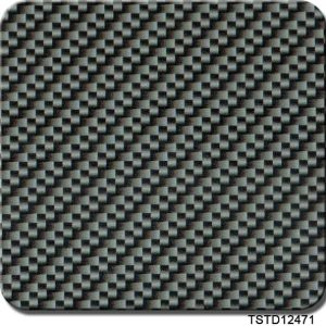 Tsautop 1meter Carbon Fiber Patterns Hydro Dipping Water Transfer Film pictures & photos