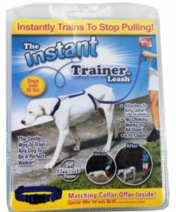 Retractable Easy Walk Dog Instant Trainer Leash (TV314) pictures & photos