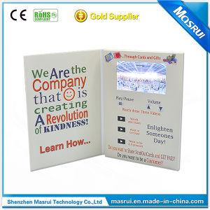4.3 Inch Video Brochure Card Digital Brochure Card
