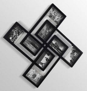 Black Free Combined Wooden Wall Photo Frames pictures & photos