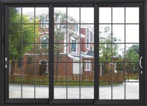 3 Track Aluminum Exterior Sliding Door for Balcony pictures & photos