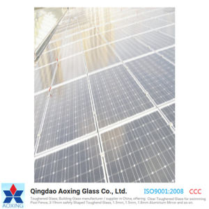 3.2mm Low Iron Patterned Solar Glass/Tempered Glass pictures & photos