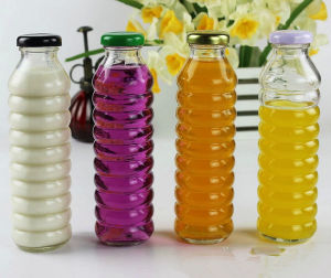 330ml Beverage Glass Bottles for Fruit Juice Container pictures & photos