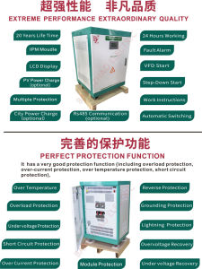 Made in China Voltage Frequency Inverter From 60Hz to 50Hz pictures & photos