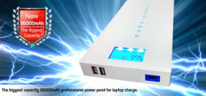 Power Bank High Capacity Charges for Laptop