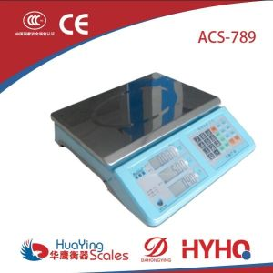 Electronic Scale (ACS-789) pictures & photos