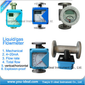 Variable Area Flow Meter-Variable Area Water Rotameter pictures & photos