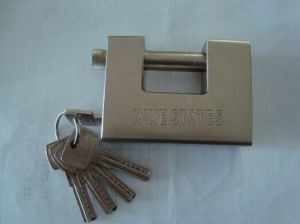 Super Heavy Block Ractangular Padlock (857030) pictures & photos