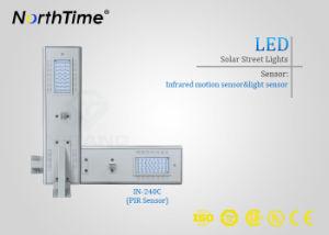 Good Design Waterproof Intelligent LED Solar Panel Street Light 40W pictures & photos