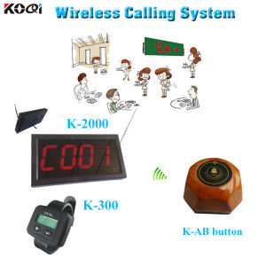 New Products on China Market Waitress System Called Restaurant Pager System pictures & photos