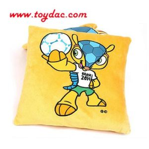 World Cup OEM Plush Cushion Toy pictures & photos