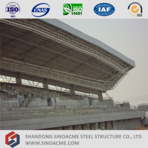 Sinoacme Steel Pipe Truss Structure for Stadium Stand Shed pictures & photos