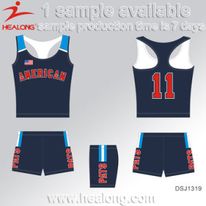 Healong Free Design Customized Dye Sublimation Cycling Jersey pictures & photos