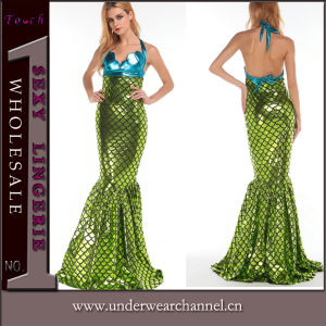 Theatrical Fairy Halloween Adult Sirena Mermaid Party Dance Costume (TENN89113) pictures & photos