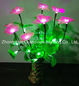 New Design (BW-Fl-001) 24V/220V LED Flower Home Decoration Light with Flower Pot pictures & photos