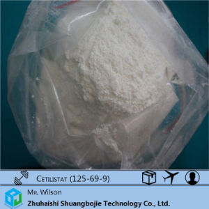 Weight Loss Drugs Cetilistat Powder CAS: 125-69-9