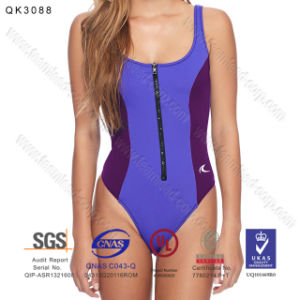 Neoprene One Piece Beach Swimwear for Women pictures & photos