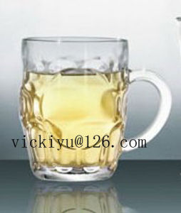 400ml Glass Beer Mug Glass Water Mug Glass Drinking Cup