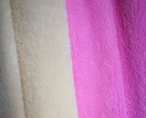 100% Polyester Single Sided Coral Fleece pictures & photos