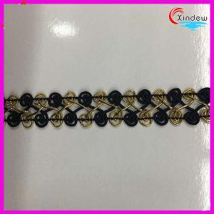 Double Row Circular Shape Metallic Trimming pictures & photos