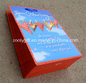 Fsc Certificated Printing Shopping Gift Paper Bag pictures & photos