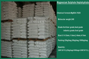 High Quality Magnesium Sulphate in China pictures & photos