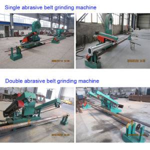 Polish Machine for The Surface with Sand Belt