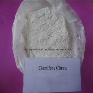99%Min Purity Anti-Estrogen Steroid Clomifene Citrate/Clomid CAS 50-41-9 pictures & photos