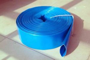 PVC Flat Hose (High-intensity polyester fiber reinforced type) pictures & photos