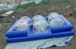 OEM Inflatable Water Swimming Pool for Water Game (CYPL-504) pictures & photos