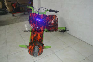 LED Light 3 Wheels Motorized Drift Trike for Sale for Children pictures & photos