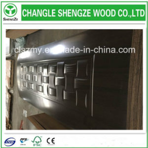 Top Quality HDF Melamine Moulded Door Skin pictures & photos