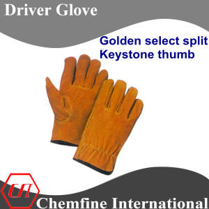 Golden Select Split, Keystone Thumb Leather Driver Glove pictures & photos