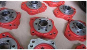 High Quality machinery Zinc Flange Provided pictures & photos