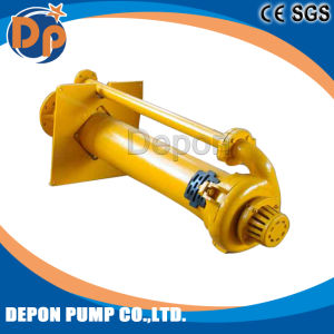 Centrifugal Grease Lubrication Sumersibkle Sump Vertical Slurry Pump pictures & photos