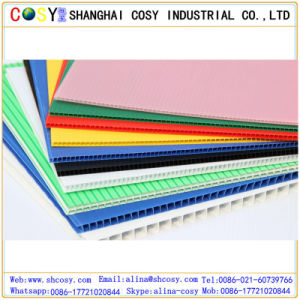 Colorful PP Hollow Sheet Coroplast Corrugated Plastic Sheet Yard Signs pictures & photos
