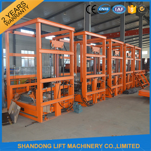 Ce Approved 2ton Warehouse Elevator with Good Price pictures & photos
