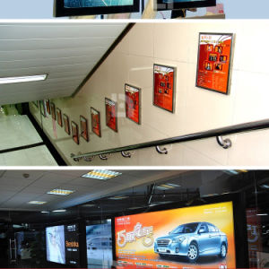 Aluminum Poster Frame with Picture Frame for Indoor LED Billboard pictures & photos