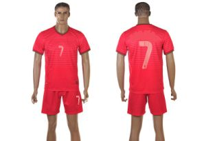 Portugal′s National Soccer Team Jersey in The 2014 World Cup