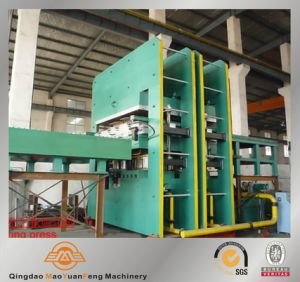 Plate Rubber Hydraulic Vulcanizing Press pictures & photos
