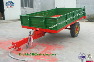 7cx-5 Europen Style Tipping Trailer for 50HP Massey Ferguson Tractor pictures & photos