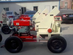 Bogen Brand Mobile Type Wood Chipper with Diesel Engine pictures & photos