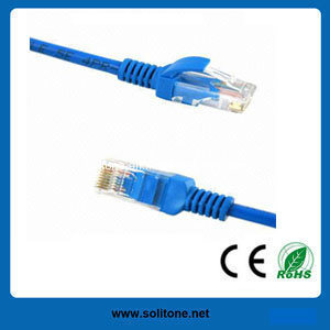 UTP Cat5e Patch Cord Blue pictures & photos