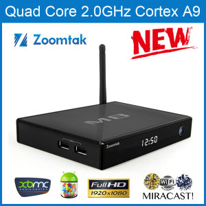 Android 4.4 TV Box M8 with Pre-Installed Kodi Aluminum Case pictures & photos