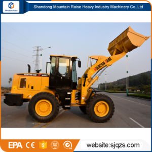 Big Earth-Moving Machinery 3ton Wheel Loader with Fork pictures & photos