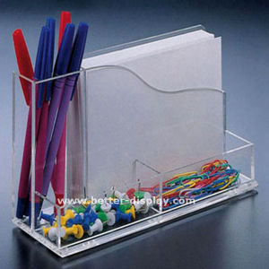 Custom Clear Acrylic Desk Organizer pictures & photos