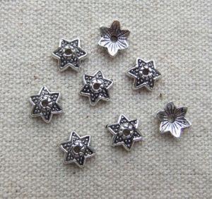Alloy Pentagram Jewelry Parts (P03)